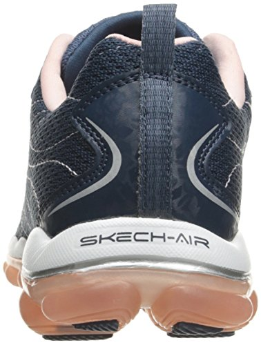 Skechers Sport Donna Skech Air 2.0 City Love Fashion Sneaker Blu / Rosa
