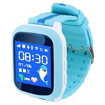 Alomejor Smartwatch Impermeable Rastreador GPS Teléfono Compatible ...