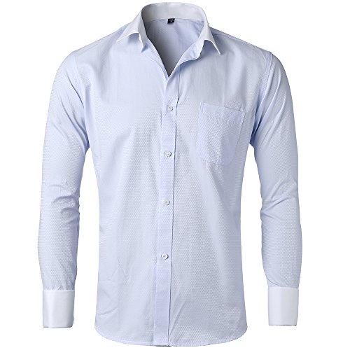 dress shirts slim fit french cuff - 9