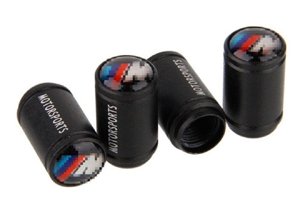 per veicoli BM M confezione da 4 Tappini antipolvere per valvole degli pneumatici