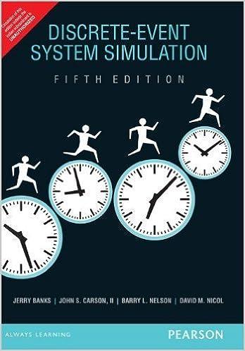 Discrete Event System Simulation Barry L Nelson Jerry Banks John S Carson Ii David M Nicol 9789332518759 Amazon Books