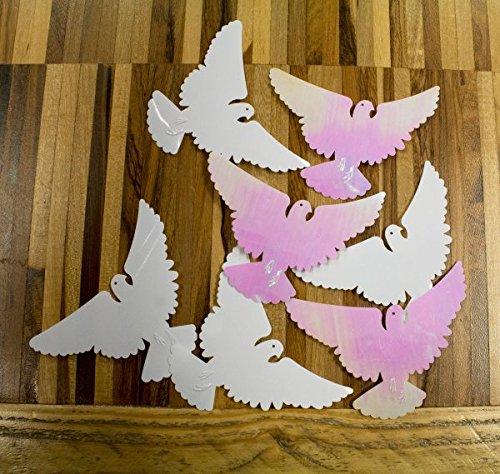 (Creative Confetti Wedding Doves)