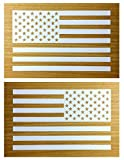 america flag sticker - American Flag Decal Sticker Die-cut Vinyl Tactical Military USA Merica United States Marines Army Navy Airforce Pair (6.5