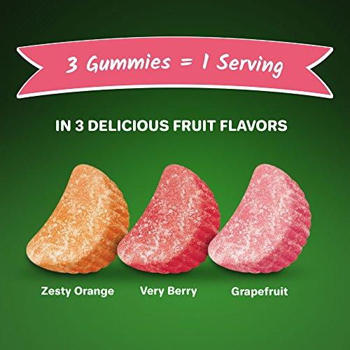 Airborne Plus Probiotic Assorted Fruit Gummies