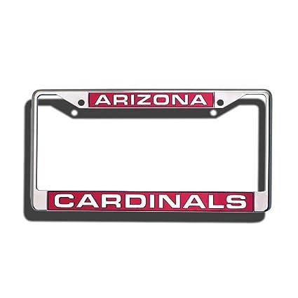 Amazon.com : Rico Industries NFL Arizona Cardinals Standard Chrome ...