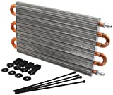 Allstar ALL26716 15'' Length x 7.5'' High Universal Transmission Cooler Kit with -6AN Fitting