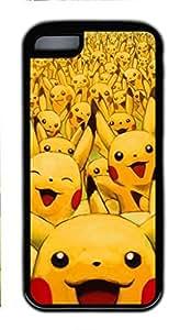 iCustomonline Case for iPhone 5C (TPU), Pikachu Stylish Durable Case for iPhone 5C (TPU)