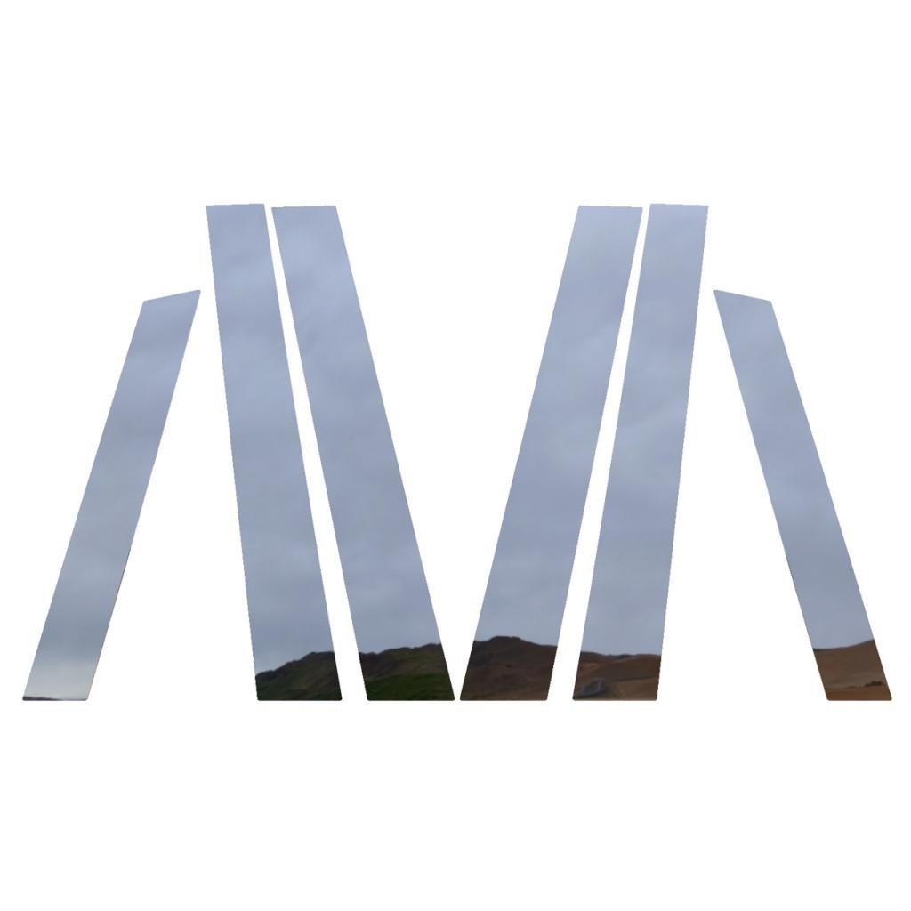 Ferreus Industries Polished Stainless Pillar Post Trim Cover fits: 2007-2011 Honda CRV All Models PIL-106-CR
