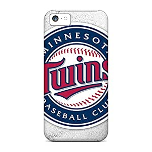 Iphone 5c EvW11599OlIN Provide Private Custom Beautiful Minnesota Twins Pattern Shockproof Hard Cell-phone Case -SherriFakhry