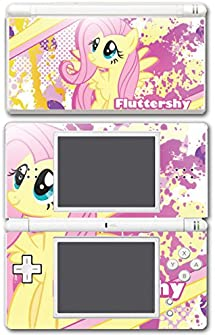 My Little Pony Friendship is Magic MLP Fluttershy Video Game Vinyl Decal Skin Sticker Cover for Nintendo DS Lite System