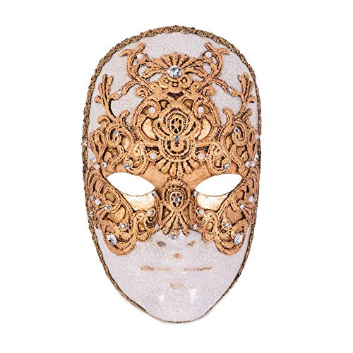 VIVO Mens Tom Cruise Gold Eyes Wide Shut Mask