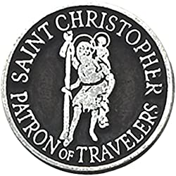 Cathedral Art Saint Christopher Pocket Token, 1-Inch