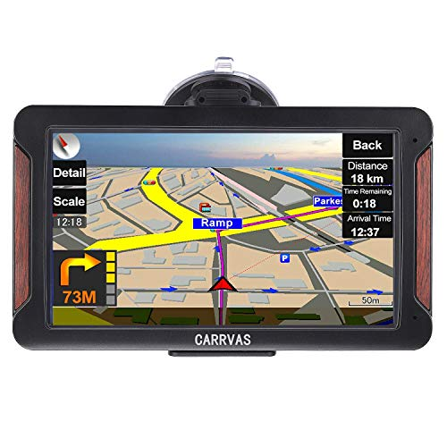 GPS Navigation for Car,Car GPS Portable Navigation System for Car Vehicle GPS Sat-Nav, Lifetime Map Updates 7 Inch