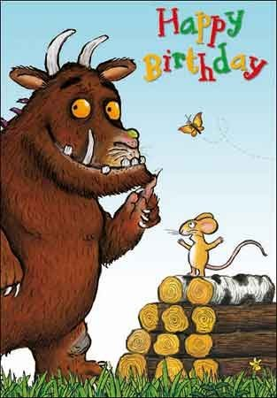 The Gruffalo Birthday Card Wdm4284 Amazon Co Uk Office Products