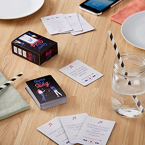 Game That Song - Music Card Game for Family, Adults, and Kids. Hilarious, Addictive, and Competitive Fun for Game Nights!