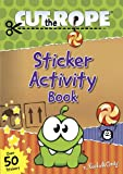 Cut the Rope Sticker Activity Book (Om Nom)