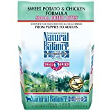 Natural Balance Small Breed Bites L.I.D. Limited Ingredient Diets Dry Dog Food, Grain Free, Sweet Potato & Chicken Formula, 4.5-Pound