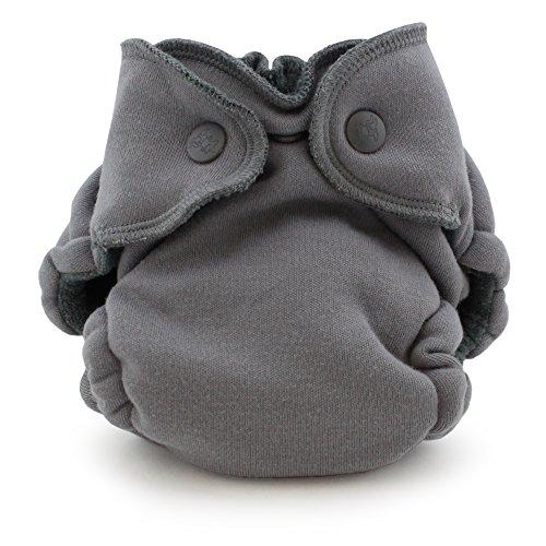 Ecoposh OBV Newborn Fitted Cloth Diaper, Glacier ()