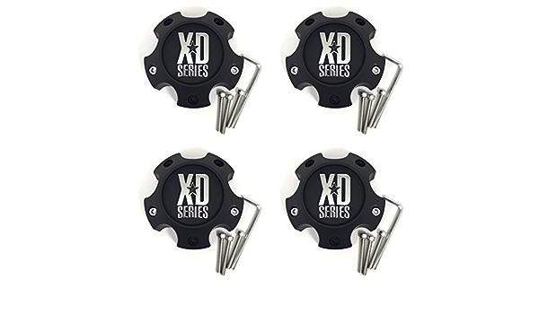 Details about  /American Racing ATX Series Black Wheel Center Cap 6L XD798 Addict XD800 Misfit