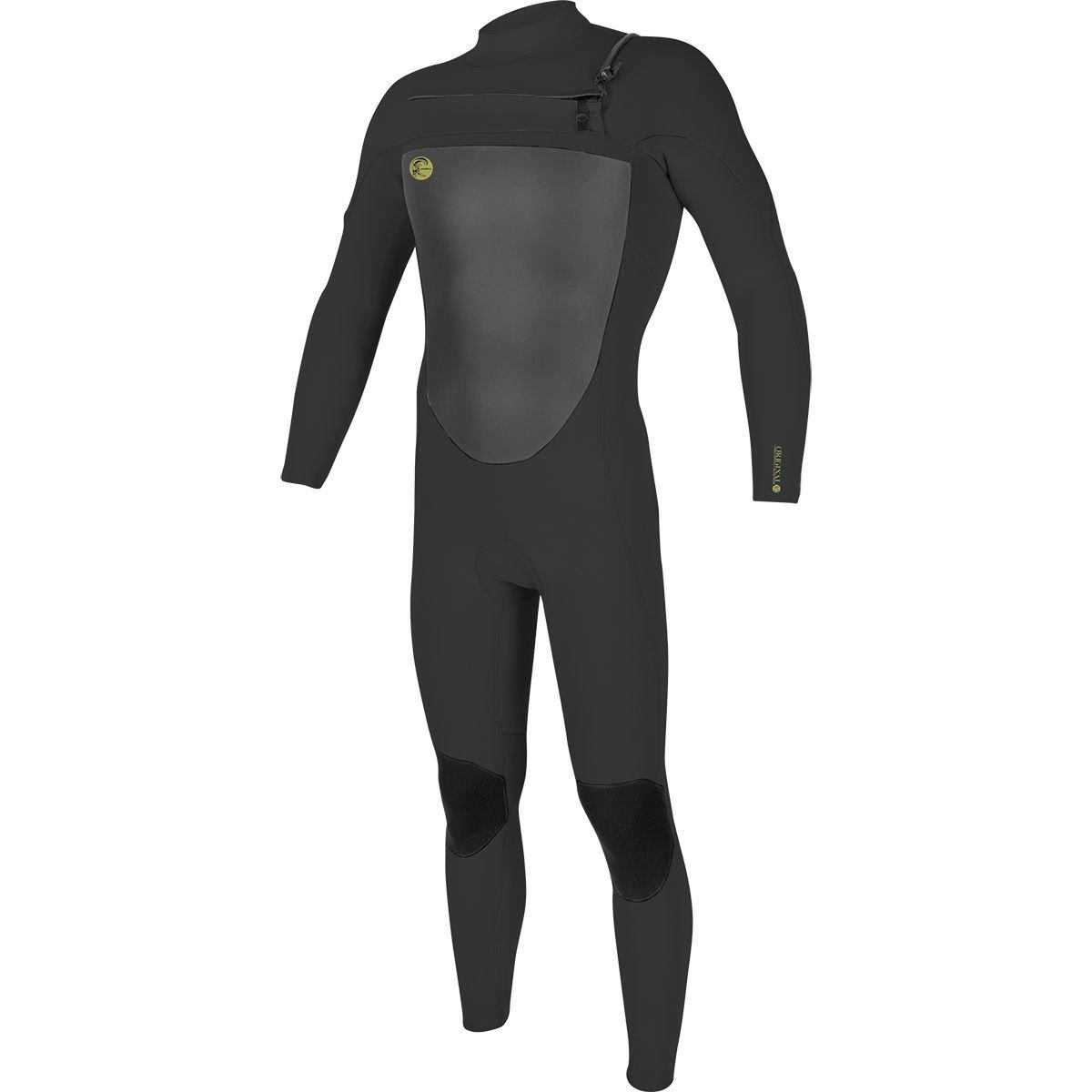 O'Neill Men's O'Riginal 3/2 mm Chest Zip Full Wetsuit, Oil/Oil, X-Small