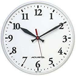 AcuRite Chaney Instrument Co. P9130 Outdoor Pool Clock 12 Inch Face