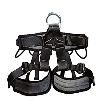 YXGOOD Climbing Harness,Treestand Harness,Roofers Tree Working Safety Belt for Mountaineering Outward Band Fire Rescue,Caving Rock Climbing Rappelling Equip