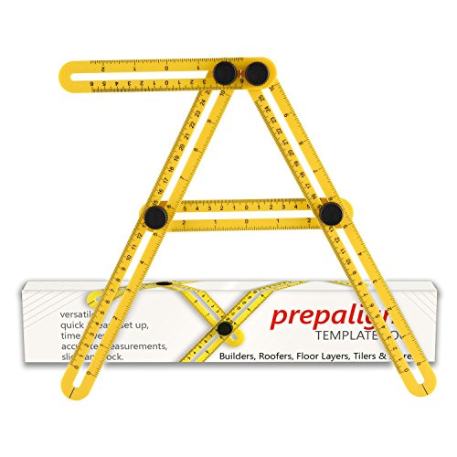 Prep-Align Angle-izer Template Tool (Leveling Patio Pavers)