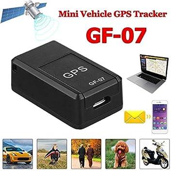 DERKOLY GF07 Mini Car Magnetic GPS Dispositivo de seguimiento magnético portátil en tiempo real GPS Localizador GPRS Consulta de seguimiento global ...