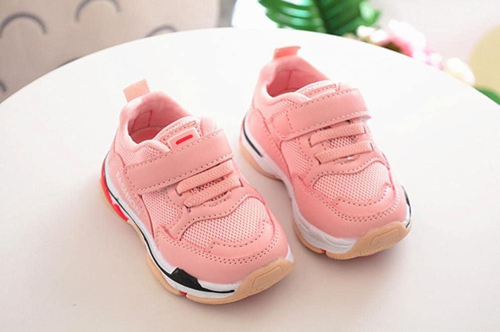 Voberry Toddler Children Kids Baby Sport Running Shoes Letter Print Mesh Sneakers