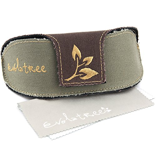 Evolatree Extra Large Sunglass Case - Oversize Sunglasses Case For Eyeglasses & Eyewear - Protective Holder For All Size Glasses - 2 Piece Set, Includes Soft Cleaning - How Display To Sunglasses