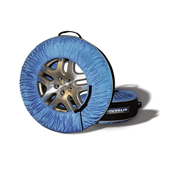 Kurgo Michelin 80 Tire Covers & Tire Bags – Pack of 4