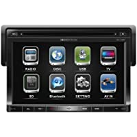 Soundstream VR-730B 1-DIN DVD Source Unit with Detachable 7″ LCD/Bluetooth