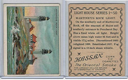 T77 Hassan, Lighthouse, 1910, Martinicus Rock, Maine
