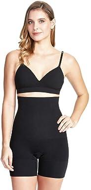 Shorts modelador Altura abdominal skin, Plié, Feminino