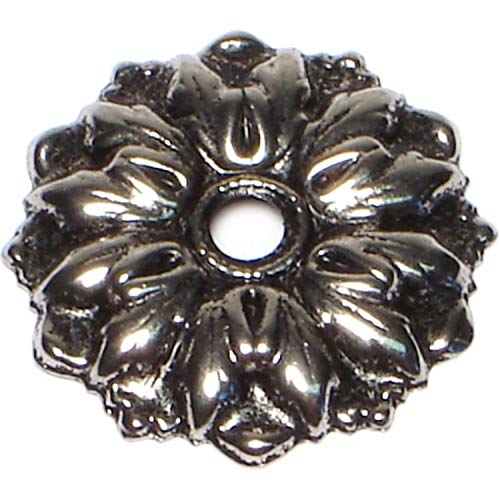 Hard-to-Find Fastener 014973165758 Antique Silver Rosettes, 1-Inch, - Rosette Silver