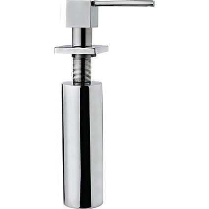 Teka 40199330 0.275L Cromo - Dispensador de jabón (3 cm, 3,5