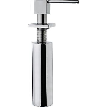 Teka 40199330 0.275L Cromo - Dispensador de jabón (3 cm, 3,5 cm): Amazon.es: Hogar