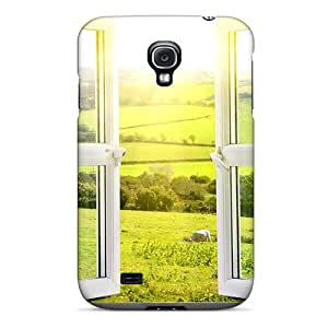Galaxy S4 Hard Back With Bumper Silicone Gel Tpu Case Cover View From A Window
