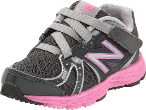 New Balance KV790 Running Shoe (Infant/Toddler),Grey/Pink,5.5 M US Toddler