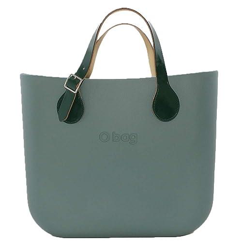 Bolsa O bolso Grande Atlantic con bolsa monocolor, Mango corto de pintura Verde: Amazon.es: Zapatos y complementos