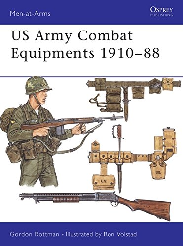 US Army Combat Equipments 1910-88: 205 (Men-at-Arms): Amazon ...