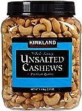 Kirkland Signature Kirkland Signature Unsalted Cashews, 2.5 Pound