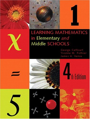 Learning Mathematics in Elementary and Middle Schools (4th Edition)