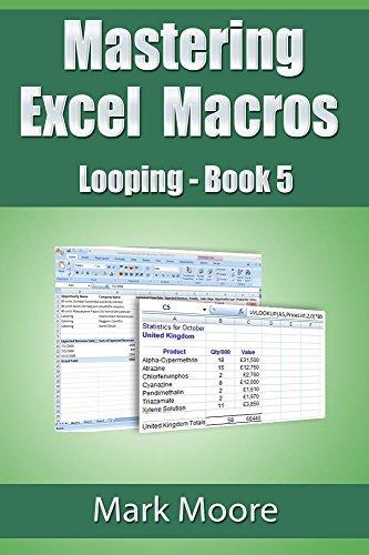 Mastering Excel Macros: Looping (Book 5) Pdf