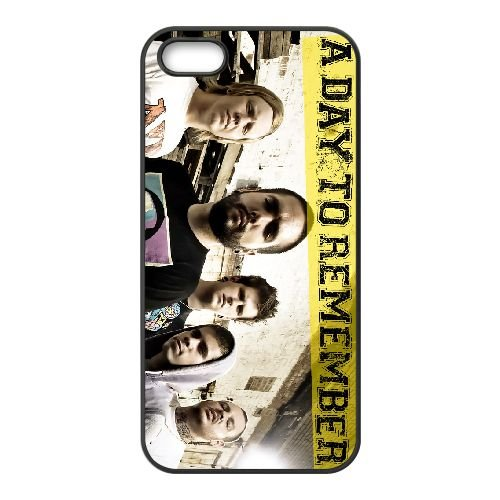 A Day To Remember 003 coque iPhone 5 5S cellulaire cas coque de téléphone cas téléphone cellulaire noir couvercle EOKXLLNCD21260