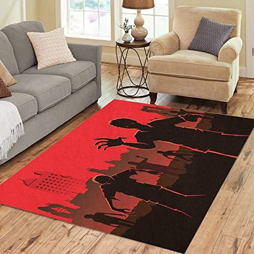 Tinmun Area Rug Advice Decor Floor Rug 5