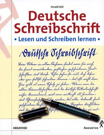 Deutsche Schreibschrift, Lehrbuch