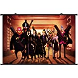 One Piece Anime Wall Scroll Poster (35''*24'')support Customized