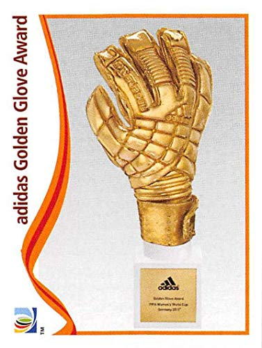 Official 2011 Fifa World Cup - 2011 Panini FIFA Women's World Cup Stickers Soccer #335 adidas Golden Glove Award Awards Official 2 inch X 2 1/2 Inch Album Sticker
