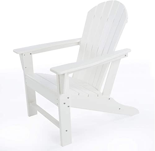DAILYLIFE HDPE Plastic/Resin Classic Outdoor Adirondack Chair